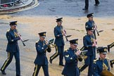 Lord Mayor's Show 2012: Entry 16 - Central Band of the RAF.. Press stand opposite Mansion House, City of London, London, Greater London, United Kingdom, on 10 November 2012 at 11:07, image #329