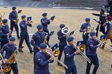 Lord Mayor's Show 2012: Entry 23 - Air Training Corps Band, RAF Cadets from the London and South East Region (LASER) of Air Cadets.. Press stand opposite Mansion House, City of London, London, Greater London, United Kingdom, on 10 November 2012 at 11:10, image #389