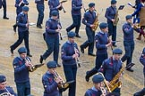 Lord Mayor's Show 2012: Entry 23 - Air Training Corps Band, RAF Cadets from the London and South East Region (LASER) of Air Cadets.. Press stand opposite Mansion House, City of London, London, Greater London, United Kingdom, on 10 November 2012 at 11:10, image #390