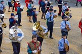 Lord Mayor's Show 2012: Entry 29 - National Youth Marching Band.. Press stand opposite Mansion House, City of London, London, Greater London, United Kingdom, on 10 November 2012 at 11:12, image #468
