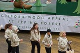 Lord Mayor's Show 2012: Entry 37 - Epping Forest promotes the launch of the Gifford Wood Appeal.. Press stand opposite Mansion House, City of London, London, Greater London, United Kingdom, on 10 November 2012 at 11:15, image #556