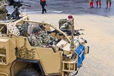 Lord Mayor's Show 2012: Entry 49 B Coy, 4 PARA. B Company, 4th Battalion The Parachute Regiment.. Press stand opposite Mansion House, City of London, London, Greater London, United Kingdom, on 10 November 2012 at 11:22, image #685
