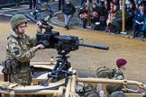 Lord Mayor's Show 2012: Entry 49 B Coy, 4 PARA. B Company, 4th Battalion The Parachute Regiment.. Press stand opposite Mansion House, City of London, London, Greater London, United Kingdom, on 10 November 2012 at 11:22, image #688
