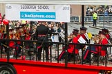 Lord Mayor's Show 2012: Entry 56 - Sedbergh School., where Lord Mayor Roger Gifford was educacted, with its CCF band.. Press stand opposite Mansion House, City of London, London, Greater London, United Kingdom, on 10 November 2012 at 11:25, image #740