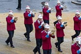 Lord Mayor's Show 2012: Entry 79 - Household Troops Band of the Salvation Army.. Press stand opposite Mansion House, City of London, London, Greater London, United Kingdom, on 10 November 2012 at 11:34, image #1002