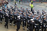 Lord Mayor's Show 2012: Entry 87 - Royal Navy (HMS Collingwood).. Press stand opposite Mansion House, City of London, London, Greater London, United Kingdom, on 10 November 2012 at 11:38, image #1151