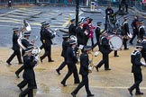 Lord Mayor's Show 2012: Entry 92 - St John Ambulance Talbot Corps of Drums.. Press stand opposite Mansion House, City of London, London, Greater London, United Kingdom, on 10 November 2012 at 11:41, image #1213