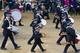 Lord Mayor's Show 2012: Entry 92 - St John Ambulance Talbot Corps of Drums.. Press stand opposite Mansion House, City of London, London, Greater London, United Kingdom, on 10 November 2012 at 11:41, image #1231