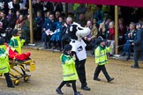 Lord Mayor's Show 2012: Entry 93 - St John Ambulance.. Press stand opposite Mansion House, City of London, London, Greater London, United Kingdom, on 10 November 2012 at 11:41, image #1239