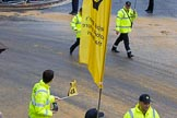 Lord Mayor's Show 2012: Entry 97 - AA, the Automobile Association.. Press stand opposite Mansion House, City of London, London, Greater London, United Kingdom, on 10 November 2012 at 11:43, image #1273
