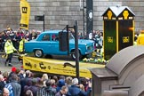 Lord Mayor's Show 2012: Entry 97 - AA, the Automobile Association.. Press stand opposite Mansion House, City of London, London, Greater London, United Kingdom, on 10 November 2012 at 11:44, image #1292