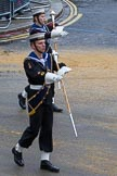 Lord Mayor's Show 2012: Entry 98 - Sea Cadet Corps Band.. Press stand opposite Mansion House, City of London, London, Greater London, United Kingdom, on 10 November 2012 at 11:45, image #1301