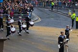 Lord Mayor's Show 2012: Entry 98 - Sea Cadet Corps Band.. Press stand opposite Mansion House, City of London, London, Greater London, United Kingdom, on 10 November 2012 at 11:45, image #1302