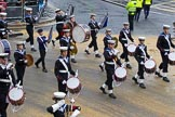 Lord Mayor's Show 2012: Entry 98 - Sea Cadet Corps Band.. Press stand opposite Mansion House, City of London, London, Greater London, United Kingdom, on 10 November 2012 at 11:45, image #1305