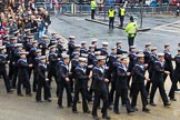 Lord Mayor's Show 2012: Entry 99 - Sea Cadet Corps (London Area).. Press stand opposite Mansion House, City of London, London, Greater London, United Kingdom, on 10 November 2012 at 11:45, image #1322