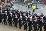 Lord Mayor's Show 2012: Entry 99 - Sea Cadet Corps (London Area).. Press stand opposite Mansion House, City of London, London, Greater London, United Kingdom, on 10 November 2012 at 11:45, image #1323