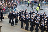 Lord Mayor's Show 2012: Entry 99 - Sea Cadet Corps (London Area).. Press stand opposite Mansion House, City of London, London, Greater London, United Kingdom, on 10 November 2012 at 11:46, image #1326