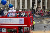 Lord Mayor's Show 2012: Entry 103 - Lloyd's Register.. Press stand opposite Mansion House, City of London, London, Greater London, United Kingdom, on 10 November 2012 at 11:50, image #1397