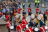 Lord Mayor's Show 2012: Entry 105 - Corps of Drums Society.. Press stand opposite Mansion House, City of London, London, Greater London, United Kingdom, on 10 November 2012 at 11:53, image #1472