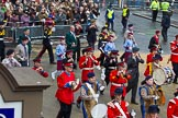 Lord Mayor's Show 2012: Entry 105 - Corps of Drums Society.. Press stand opposite Mansion House, City of London, London, Greater London, United Kingdom, on 10 November 2012 at 11:53, image #1475