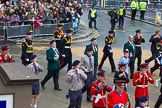 Lord Mayor's Show 2012: Entry 105 - Corps of Drums Society.. Press stand opposite Mansion House, City of London, London, Greater London, United Kingdom, on 10 November 2012 at 11:53, image #1477