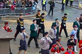 Lord Mayor's Show 2012: Entry 105 - Corps of Drums Society.. Press stand opposite Mansion House, City of London, London, Greater London, United Kingdom, on 10 November 2012 at 11:53, image #1478