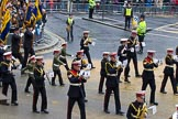 Lord Mayor's Show 2012: Entry 111 - Surbiton Royal British Legion Band.. Press stand opposite Mansion House, City of London, London, Greater London, United Kingdom, on 10 November 2012 at 11:56, image #1603