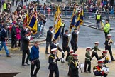 Lord Mayor's Show 2012: Entry 112 - Royal British Legion.. Press stand opposite Mansion House, City of London, London, Greater London, United Kingdom, on 10 November 2012 at 11:56, image #1606