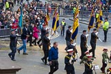Lord Mayor's Show 2012: Entry 112 - Royal British Legion.. Press stand opposite Mansion House, City of London, London, Greater London, United Kingdom, on 10 November 2012 at 11:56, image #1607