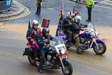 Lord Mayor's Show 2012: Entry 112 - Royal British Legion.. Press stand opposite Mansion House, City of London, London, Greater London, United Kingdom, on 10 November 2012 at 11:56, image #1612
