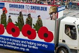 Lord Mayor's Show 2012: Entry 112 - Royal British Legion.. Press stand opposite Mansion House, City of London, London, Greater London, United Kingdom, on 10 November 2012 at 11:57, image #1617