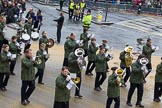 Lord Mayor's Show 2012: Entry 117 - 1st Hook Scout & Guide Band.. Press stand opposite Mansion House, City of London, London, Greater London, United Kingdom, on 10 November 2012 at 11:59, image #1668