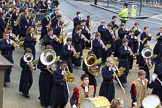 Lord Mayor's Show 2012: Entry 123 - Christ's Hospital School Band.. Press stand opposite Mansion House, City of London, London, Greater London, United Kingdom, on 10 November 2012 at 12:02, image #1768