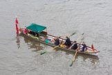 Lord Mayor's Show 2013: The Lord Mayor's flotilla, here cutter 'Trinity Tide', crewed by Trinity House. Photo be Mike Garland..     on 09 November 2013 at 09:17, image #41