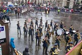 Lord Mayor's Show 2013: 15-Band of The Royal Air Force-The Central Band of the Royal Air Force is one of the oldest band in RAF.. Press stand opposite Mansion House, City of London, London, Greater London, United Kingdom, on 09 November 2013 at 11:08, image #290