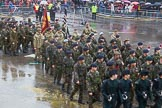 Lord Mayor's Show 2013: 24-Army Cadet Force-one of the UK's oldest, largest and most successful youth organisations.. Press stand opposite Mansion House, City of London, London, Greater London, United Kingdom, on 09 November 2013 at 11:12, image #358