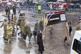 Lord Mayor's Show 2013: 25-Univeristy of London Officer Training Corps- offers excellent opportunities for leadership developmnent through military training, adventurous training and social activities.. Press stand opposite Mansion House, City of London, London, Greater London, United Kingdom, on 09 November 2013 at 11:12, image #363