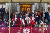 Lord Mayor's Show 2013. Press stand opposite Mansion House, City of London, London, Greater London, United Kingdom, on 09 November 2013 at 11:20, image #487
