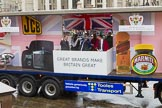 Lord Mayor's Show 2013: 49-Worshipful Company of Marketors-Their theme this year is  'Great Brands make Britain Great'.. Press stand opposite Mansion House, City of London, London, Greater London, United Kingdom, on 09 November 2013 at 11:28, image #653