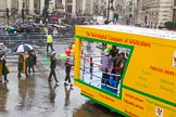 Lord Mayor's Show 2013: 83-Worsshipful Company of Arbitrators- fosts the profession of Arbitration and other forms of private dispute resolution.. Press stand opposite Mansion House, City of London, London, Greater London, United Kingdom, on 09 November 2013 at 11:46, image #1011