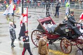 Lord Mayor's Show 2013: Carriages used by the Worshipful Companies and Guilds of the City, further information would be most welcome!. Press stand opposite Mansion House, City of London, London, Greater London, United Kingdom, on 09 November 2013 at 12:06, image #1388