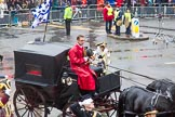 Lord Mayor's Show 2013: Carriages used by the Worshipful Companies and Guilds of the City, further information would be most welcome!. Press stand opposite Mansion House, City of London, London, Greater London, United Kingdom, on 09 November 2013 at 12:09, image #1420