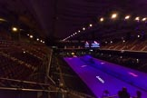 British Military Tournament 2013: Earls Court minutes before the start of the dress rehearsal, with a German U-Boat spanning the length of the hall.. Earls Court, London SW5,  United Kingdom, on 06 December 2013 at 14:23, image #1