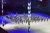 British Military Tournament 2013: The Royal Marines Massed Band.. Earls Court, London SW5,  United Kingdom, on 06 December 2013 at 14:49, image #43