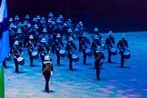British Military Tournament 2013: The Royal Marines Massed Band.. Earls Court, London SW5,  United Kingdom, on 06 December 2013 at 14:50, image #44
