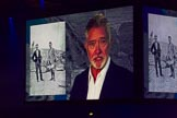 British Military Tournament 2013: Actor Martin Shaw talking about Lawrence of Arabia, introducing the next part of the programme.. Earls Court, London SW5,  United Kingdom, on 06 December 2013 at 15:00, image #74