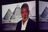 British Military Tournament 2013: Actor Martin Shaw talking about Lawrence of Arabia, introducing the next part of the programme.. Earls Court, London SW5,  United Kingdom, on 06 December 2013 at 15:00, image #75