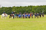 The Light Cavalry HAC Annual Review and Inspection 2013. Windsor Great Park Review Ground, Windsor, Berkshire, United Kingdom, on 09 June 2013 at 10:53, image #100
