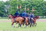 The Light Cavalry HAC Annual Review and Inspection 2013. Windsor Great Park Review Ground, Windsor, Berkshire, United Kingdom, on 09 June 2013 at 11:28, image #130