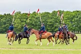The Light Cavalry HAC Annual Review and Inspection 2013. Windsor Great Park Review Ground, Windsor, Berkshire, United Kingdom, on 09 June 2013 at 11:32, image #131